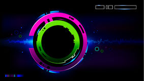 Cool futuristic background