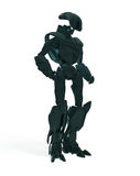 Cool futuristic robot Royalty Free Stock Photography