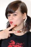 Cool girl Stock Photos