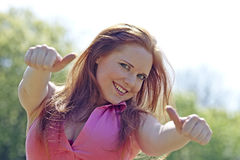 Cool girl Royalty Free Stock Photo