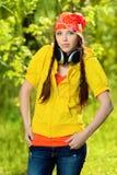 Cool girl Royalty Free Stock Image