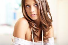 Cool girl Royalty Free Stock Photography