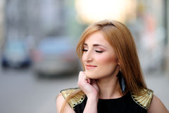 Cool girl posing Royalty Free Stock Images