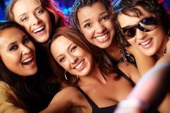 Cool girls Royalty Free Stock Image