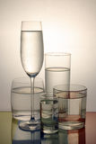 Cool glass of water Stock Images