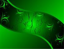 Cool green vector design Stock Photography