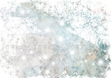 Cool Grunge Ink Paper Texture. Nice grunge blue texture in watercolor splatters and spills on paper for use as a background or texture Royalty Free Stock Photography