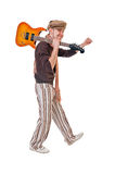 Cool guitarist Royalty Free Stock Photos