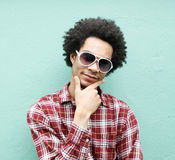 Cool guy Royalty Free Stock Image