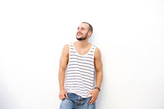 Cool guy smiling Royalty Free Stock Image
