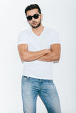 Cool and handsome. Royalty Free Stock Photo