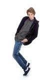 Cool hip fashion teen dancing, Stock Photography