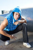 Cool hip hop dancer Royalty Free Stock Photo