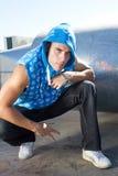 Cool hip hop dancer Royalty Free Stock Photo