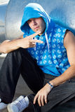 Cool hip hop dude Royalty Free Stock Photography