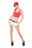 Cool hip hop girl Stock Photo