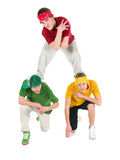 Cool hip hop style dancer Stock Photos