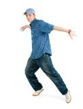 Cool hip hop style dancer posing Royalty Free Stock Images