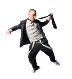 Cool hip-hop young man Stock Images