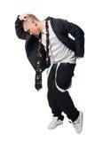 Cool hip-hop young man Royalty Free Stock Photos