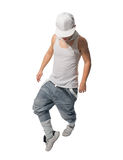 Cool hip-hop young man Royalty Free Stock Photo