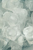 Cool ice cubes. Abstract background royalty free stock photo