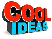 Cool ideas Royalty Free Stock Photo