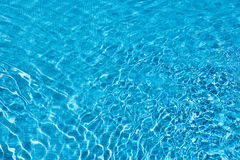 Cool inviting sparkling blue water Royalty Free Stock Photography