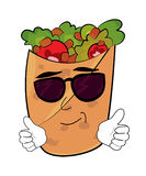 Cool Kebab cartoon Royalty Free Stock Photo