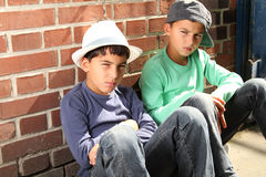 Cool kids Stock Image
