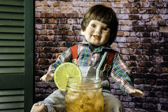 Cool Lemonade Royalty Free Stock Photo