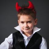 Cool little boy in a waistcoat Stock Image