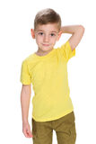 Cool little boy Stock Images