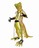 Cool lizard Stock Images