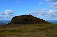 A Cool Look at Arthur's Seat Royalty Free Stock Image