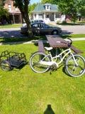 Cool looking cruisers bike stock photo