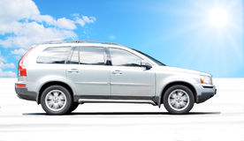 Cool looking suv car Royalty Free Stock Images