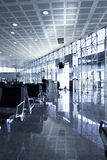Cool lounge in airport Royalty Free Stock Images