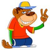 cool małpy Obrazy Stock