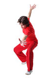Cool man dancer Royalty Free Stock Photography