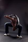 Cool man dancer Royalty Free Stock Photos