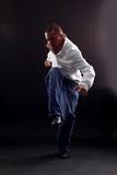Cool man modern dancer Royalty Free Stock Photography