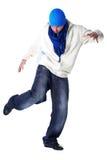 Cool man modern dancer Royalty Free Stock Image