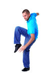 Cool man modern dancer Stock Image