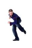 Cool man modern dancer Stock Photos