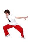 Cool man modern dancer Stock Image