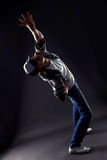 Cool man modern dancer Stock Photos