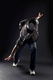 Cool man modern dancer Stock Photo