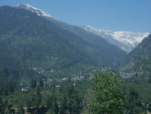 Cool Manali Dreamscape Stock Photo