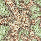 Cool marble effect fractal pattern royalty free stock image